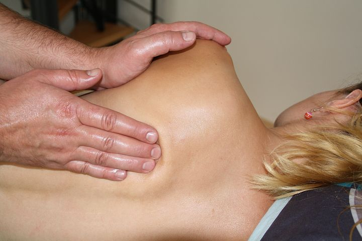 Norwest chiropractor checking a patient