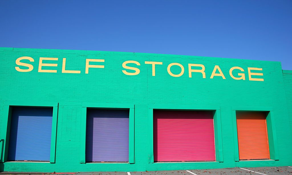 Newcastle self storage facility